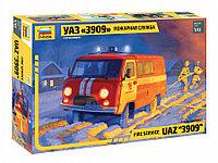 Сборная модель УАЗ «3909» Пожарная служба, фото 1