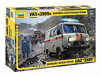 Сборная модель УАЗ «3909» Аварийно-спасательная служба, фото 1