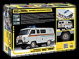 Сборная модель УАЗ «3909» Аварийно-спасательная служба, фото 7