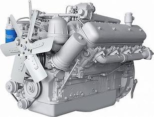 ЯМЗ-238Б V-образный 8-цилиндровый дизельный двигатель