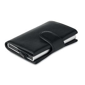 Бумажник для карт с RFID защитой. Черный