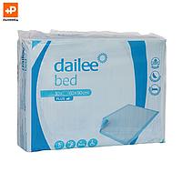 Пелёнки Dailee одноразовые впитывающие «Эконом» 60x90, 30 шт.