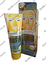 Золотая пилинг маска для лица, коллаген