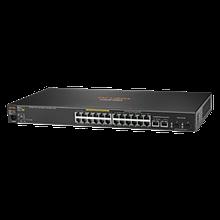 HPE J9773A  Управляемый коммутатор 2530-24G-PoE+ L2 Ethernet с фиксированным портом