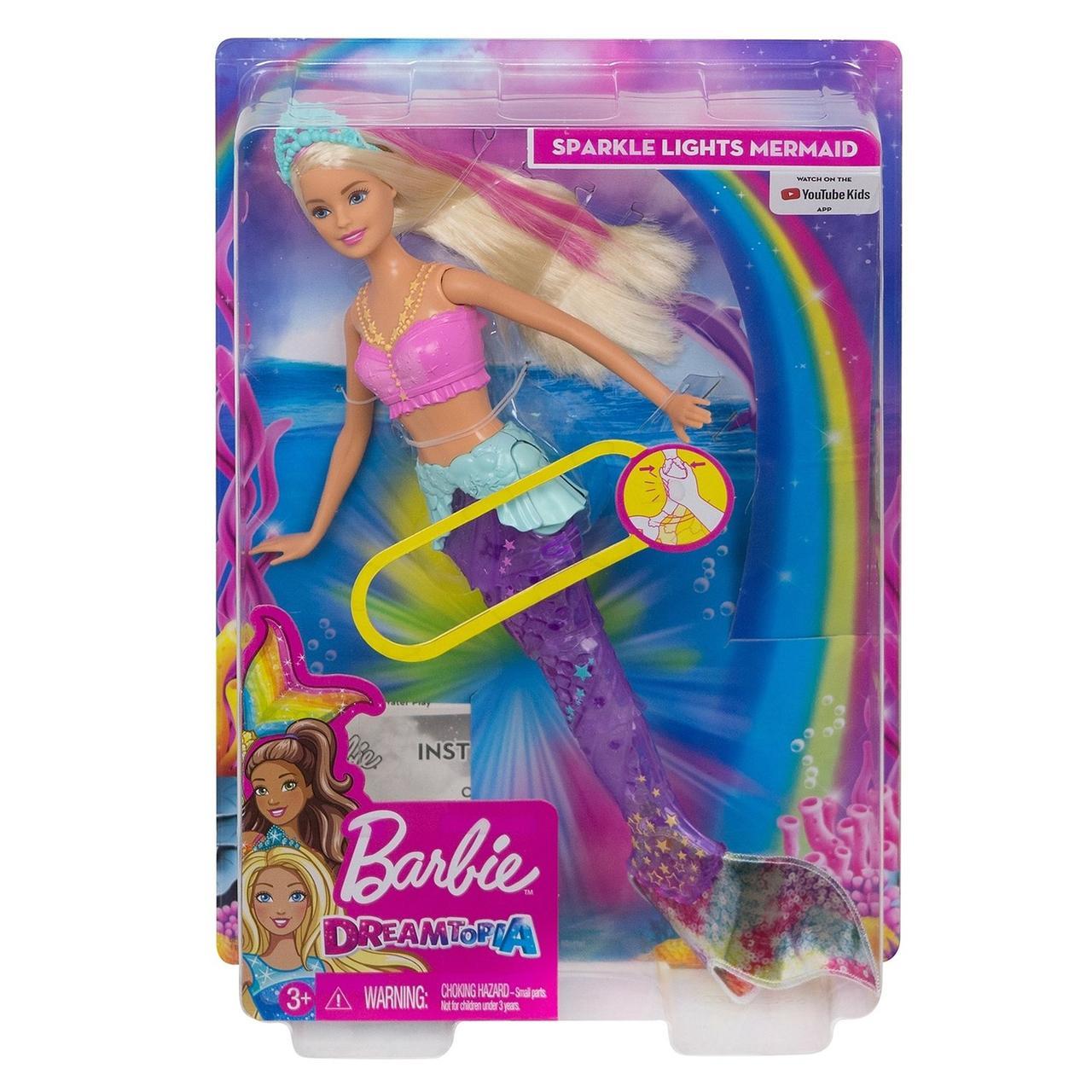 Кукла Barbie Dreamtopia Мерцающая русалочка. - фото 1