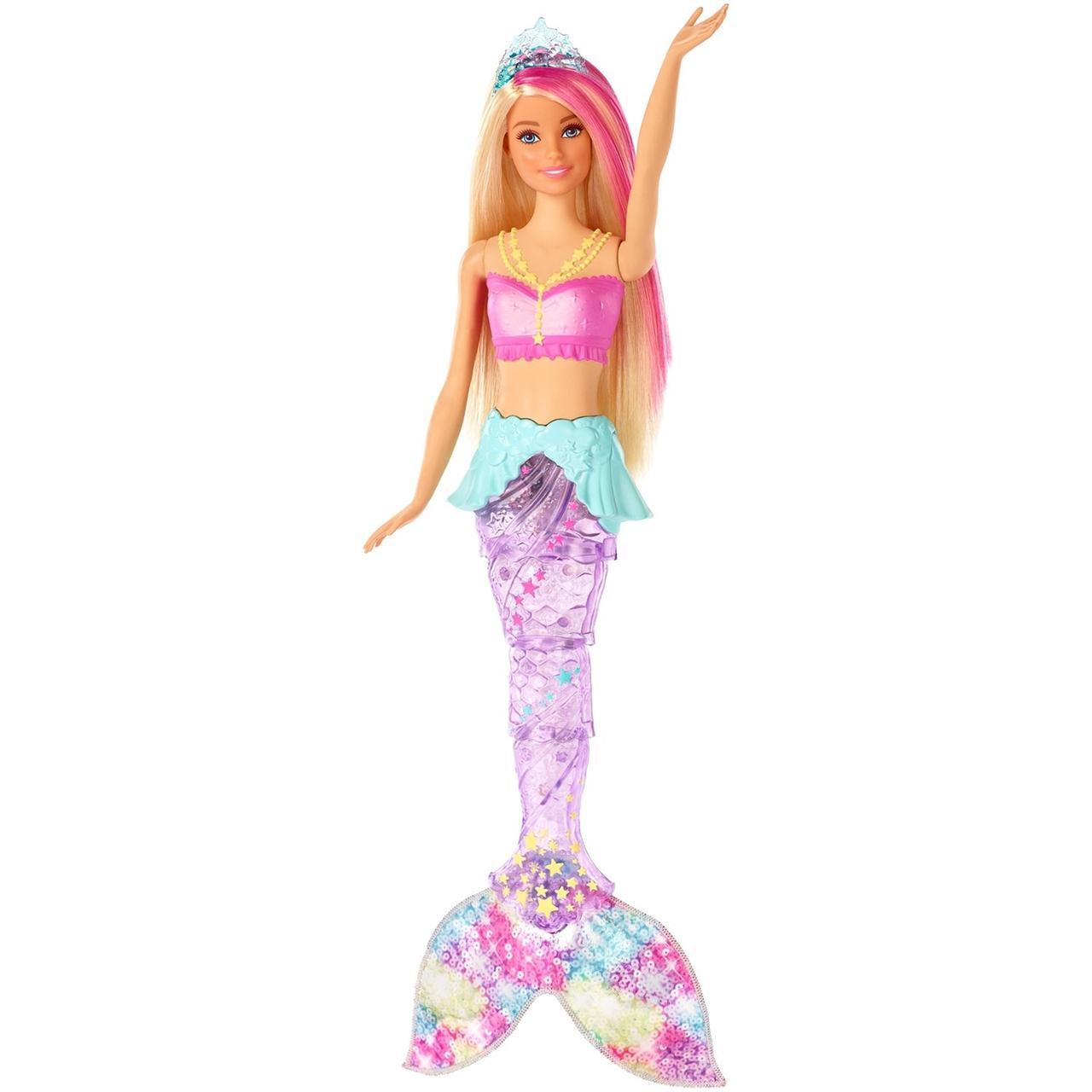 Кукла Barbie Dreamtopia Мерцающая русалочка. - фото 2