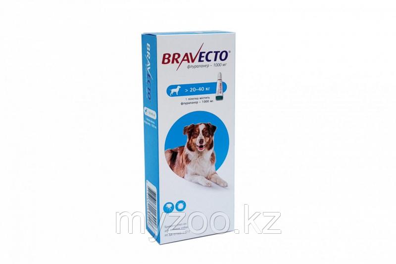 Бравекто Капли для собак, 20-40 кг