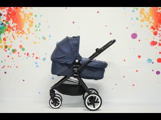 Детская прогулочная коляска 2 в 1 Mstar S1000 с люлькой