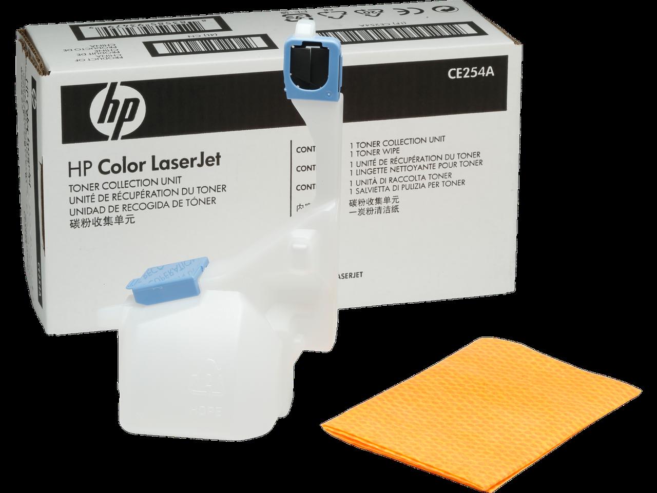 HP CE254A Комплект для сбора тонера для принтеров CM3530, M575, M551, M570, ресурс 36000 страниц