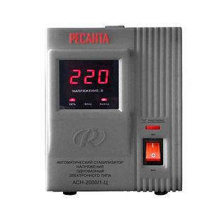 Стабилизатор напряжения РЕСАНТА АСН-2000/1-Ц 2 кВт Однофазный, Релейный