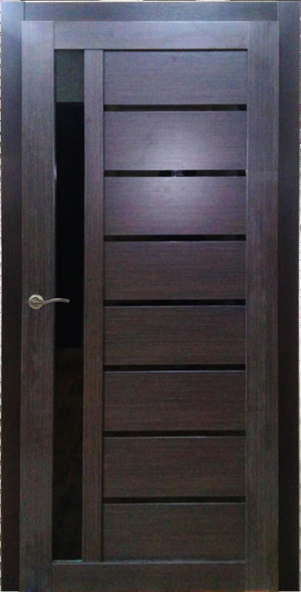 Дверь Вертикаль чёрная