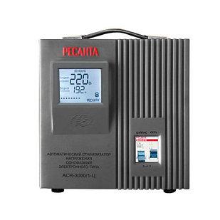 Стабилизатор напряжения РЕСАНТА АСН-3000/1-Ц 3 кВт Однофазный, Релейный