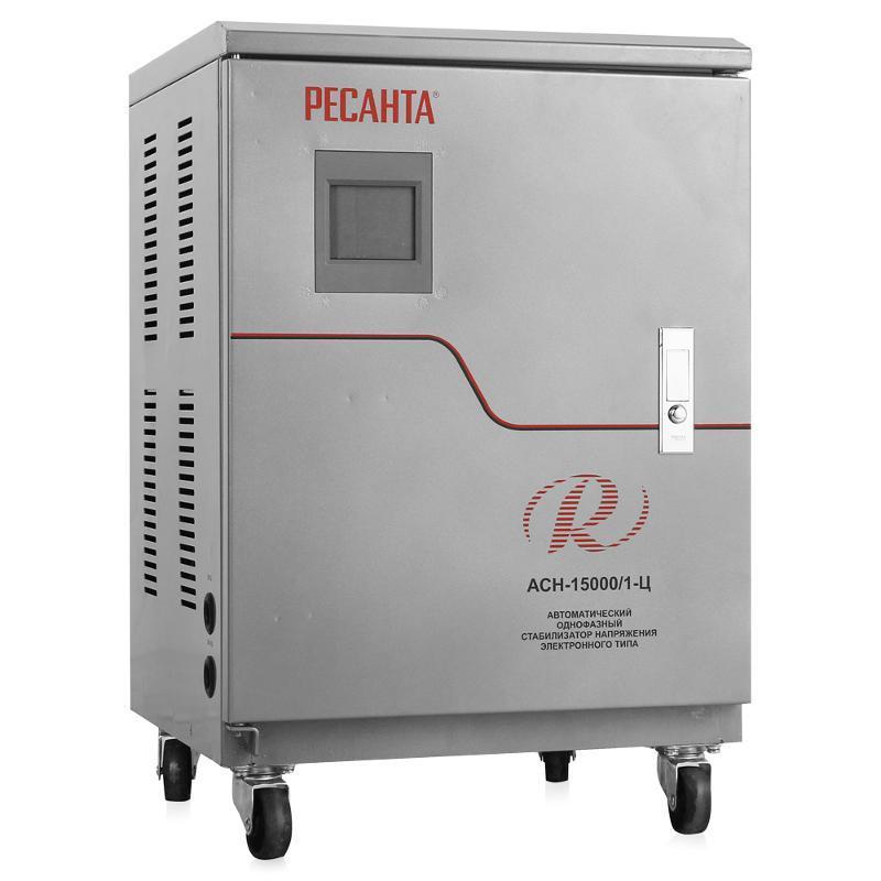 Стабилизатор напряжения РЕСАНТА АСН-20000/1-Ц 20 кВт Однофазный, Релейный