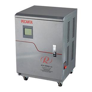 Стабилизатор напряжения РЕСАНТА АСН-15000/1-Ц 15 кВт Однофазный, Релейный