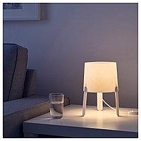 ТВЭРС Лампа настольная, белый, фото 1