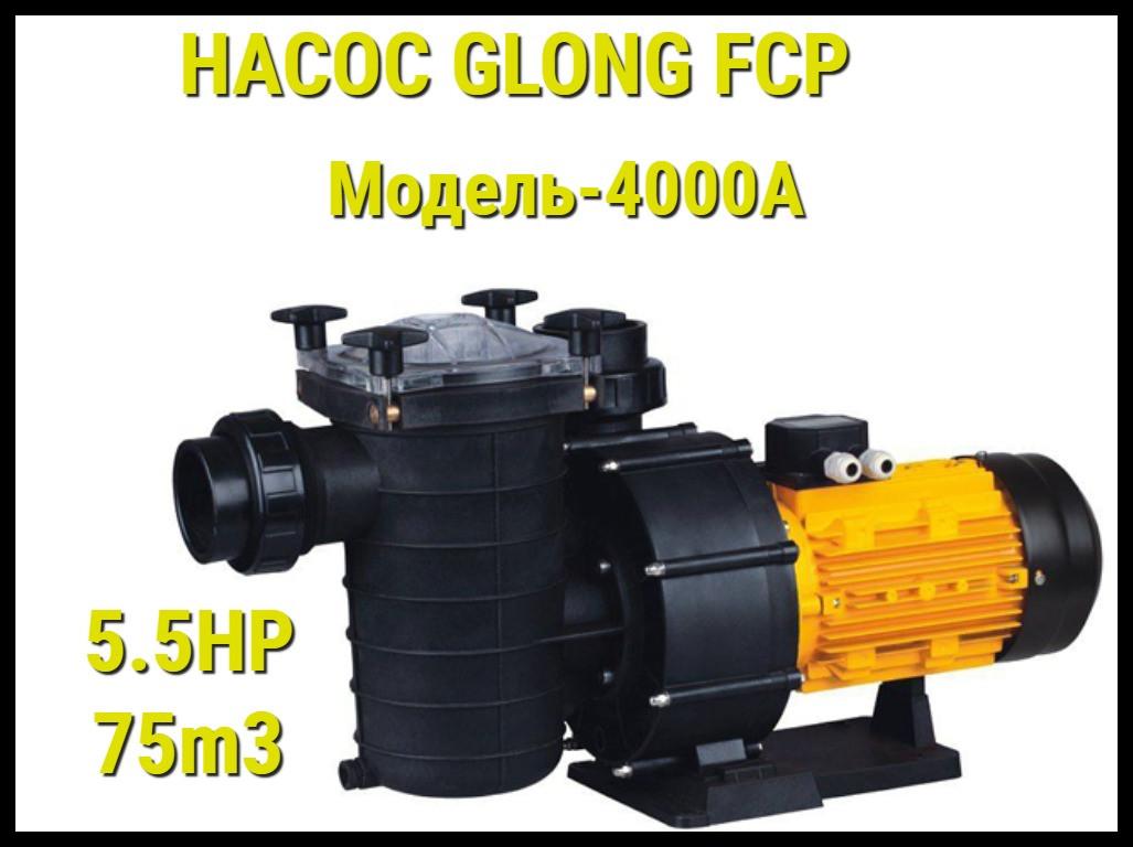 Насос для бассейна Glong FCP 4000A c префильтром
