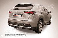 Защита заднего бампера d57 Lexus NX 300h 2014-18