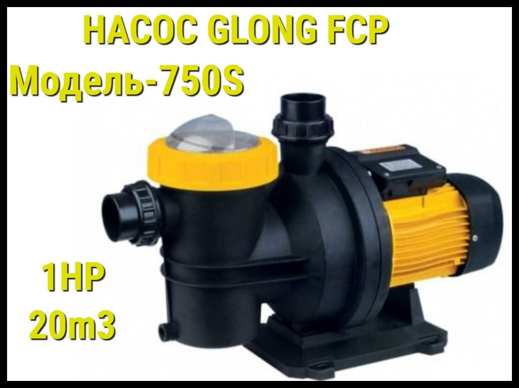 Насос для бассейна Glong FCP 750S c префильтром