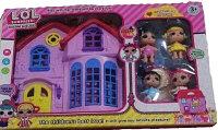 Кукольный домик с куклами LQL Surprise
