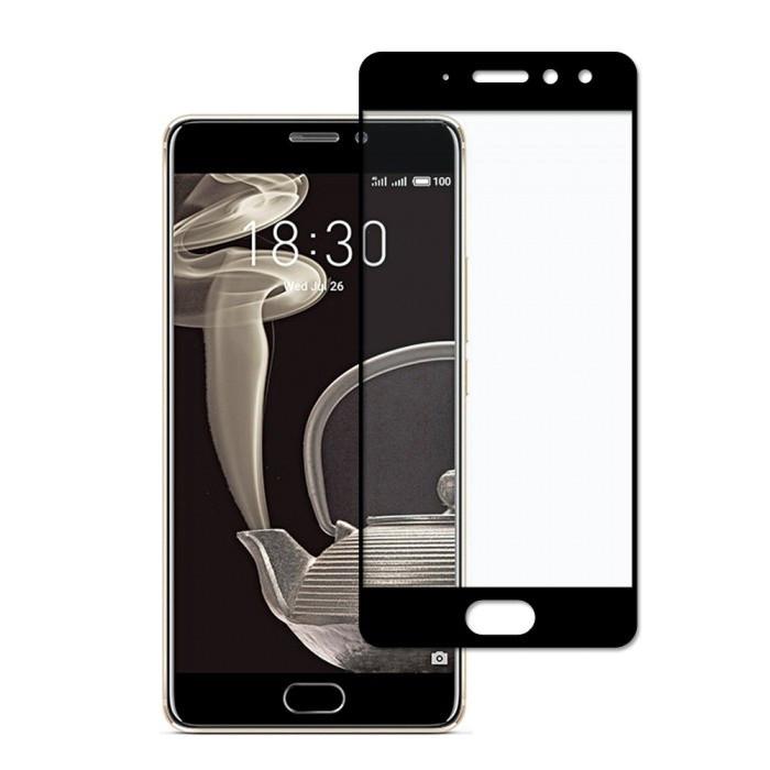 Защитное стекло Full screen PowerPlant для Meizu Pro 7 Plus Black