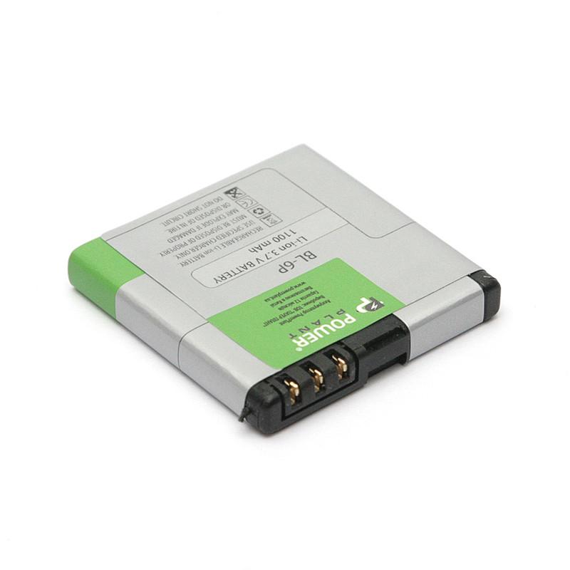 Аккумулятор PowerPlant Nokia 6500 (BL-6P) 1100mAh