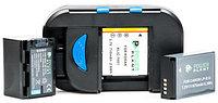 Универсальное зарядное устройство PowerPlant для всех типов аккумуляторов + 2 AA/ BM-001