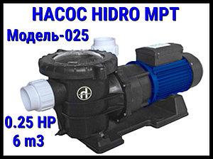 Насос для бассейна Hidro MPT025 c префильтром