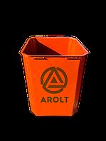 Мусорный контейнер для ТБО 0.75 м3. без колес и крышки