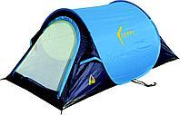 Палатка BEST CAMP Мод. SKIPPY 2 (2-x местн.)(220x120x90см)(1,40кГ)(нагрузка: 1.500мм)(синий) R89025