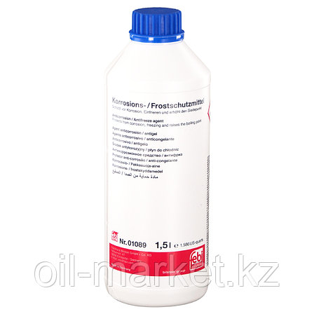 FEBI 01089 антифриз синий 1.5L концентрат 1:1 -40°C G11, фото 2