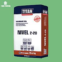 TYTAN TS23 Самовыравнивающаяся Смесь NIVEL 2–20
