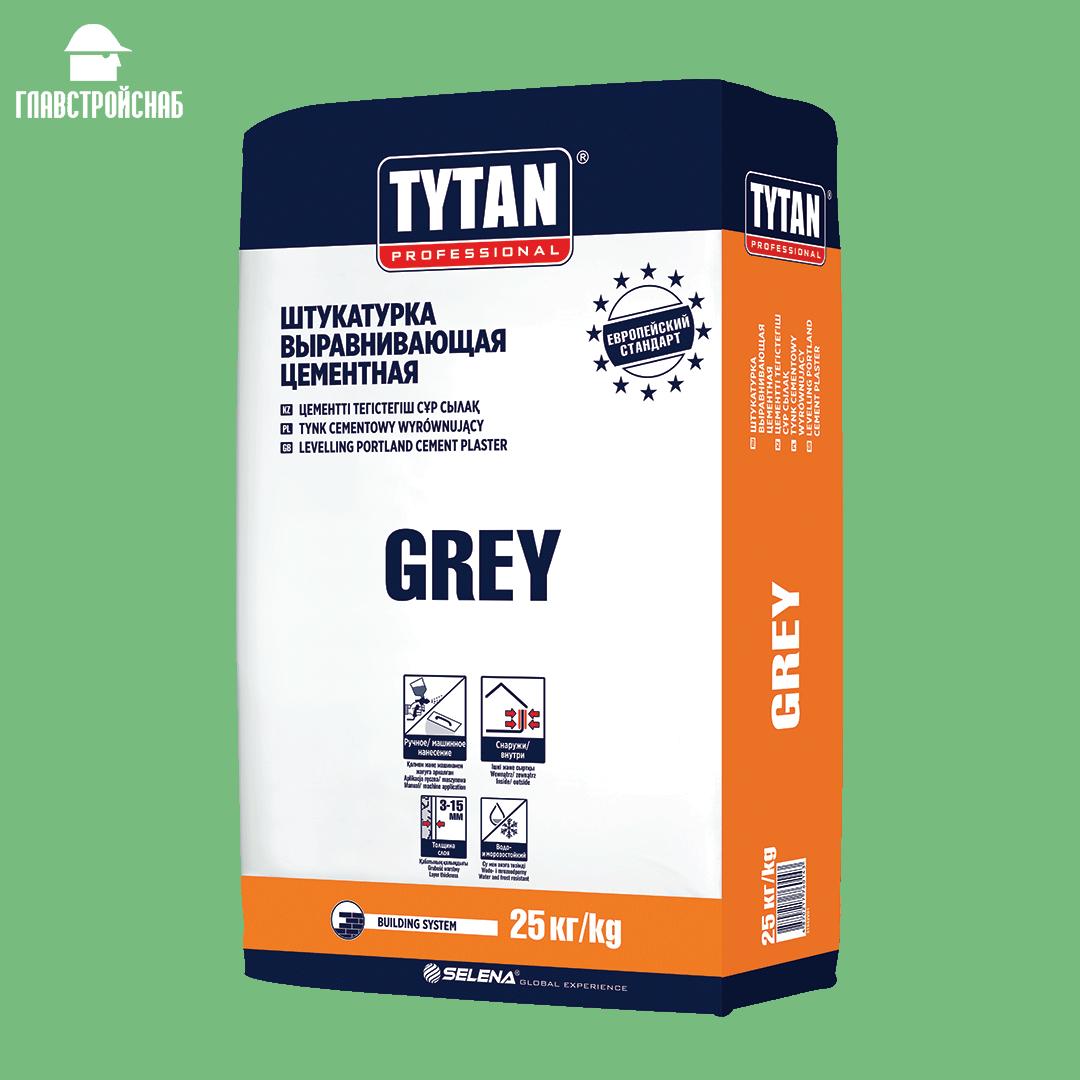Tytan штукатурка цементная GREY BS33