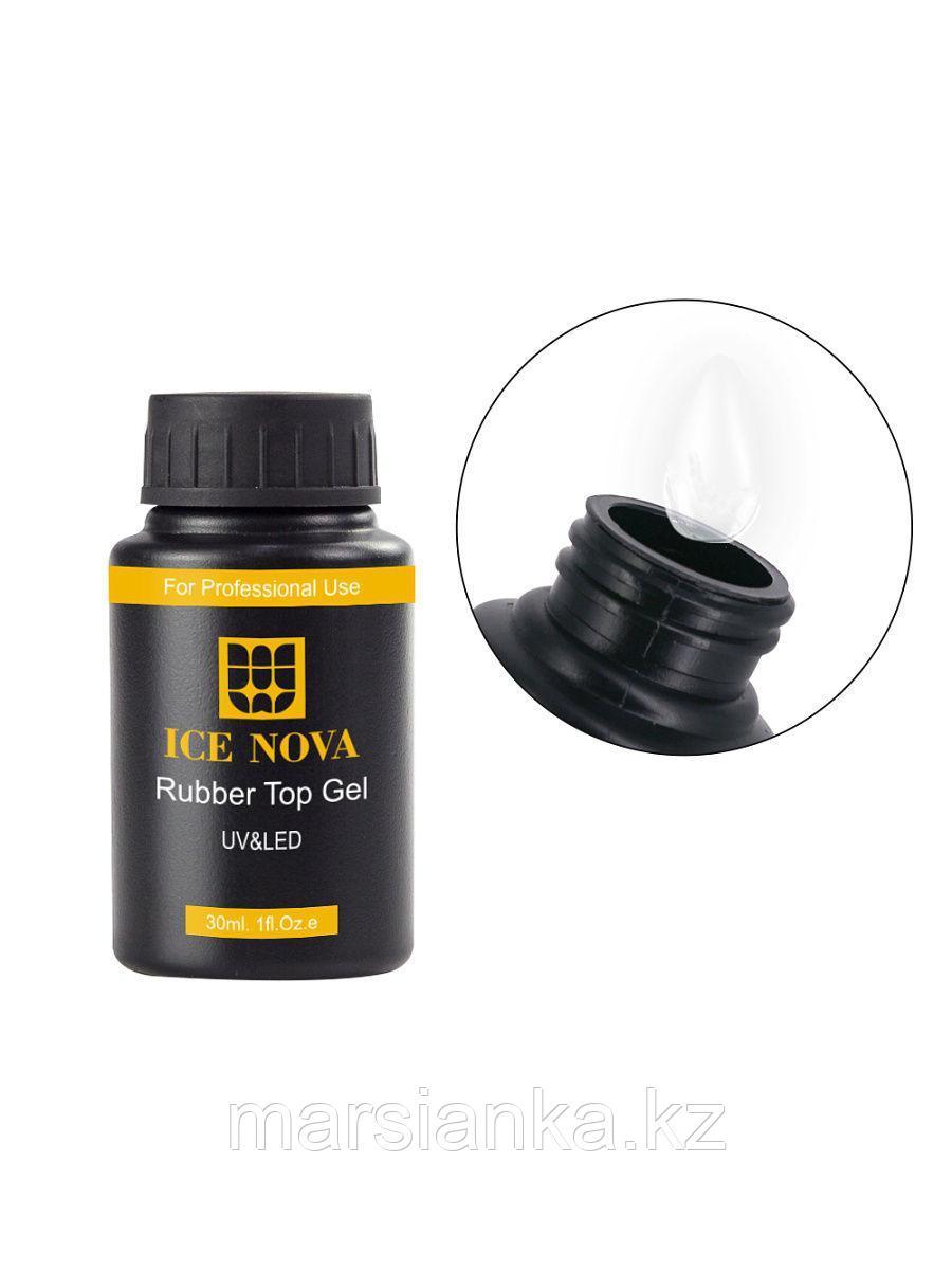 Топ Ice Nova Rubber Top Coat (без липкого слоя), 30мл