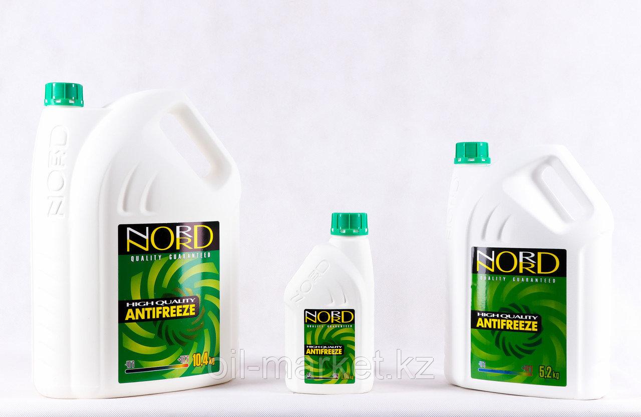 Охлаждающая жидкость Антифриз NORD зеленый 5.2 кг
