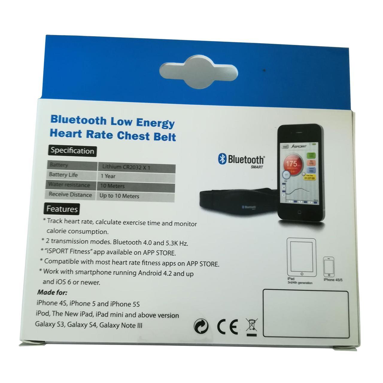 Нагрудный кардиодатчик Bluetooth 4.0 и 5.3кГц DFC W227Q - фото 5