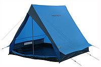 Палатка HIGH PEAK Мод. SCOUT 2 (2-x местн.)(210x140x130см)(2,50кГ)(нагрузка: 2.000мм)(синий/серый) R89021