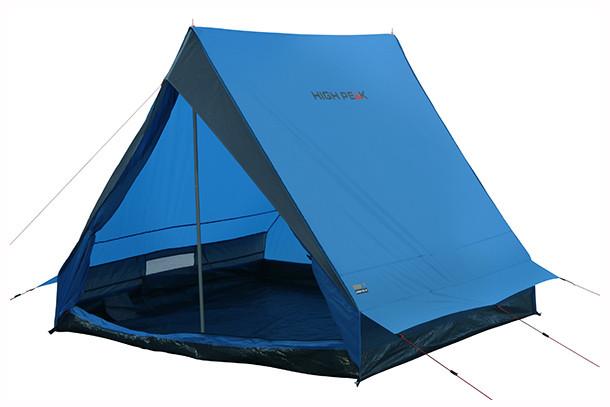 Палатка HIGH PEAK Мод. SCOUT 2 (2-x местн.)(210x140x130см)(2,50кГ)(нагрузка: 2.000мм)(синий/серый) R89021 - фото 1