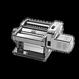 Marcato Classic Atlas Motor 150mm/220V электрическая тестораскаточная машина с насадкой лапшерезка, фото 2
