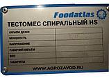 Машина тестомесильная HS-20 (AR) Foodatlas Pro 220В, фото 4