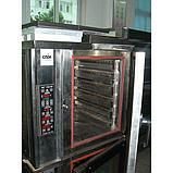 Печь конвекционная электрическая с пароувлажнением ATLAS YKZ-5D, фото 2