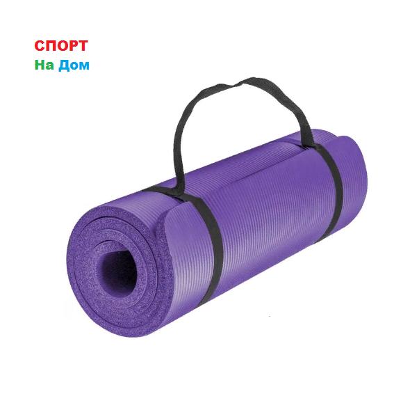 Коврик-Мат для йоги и фитнеса из вспененного каучука (175 * 60* 1 см) - фото 1