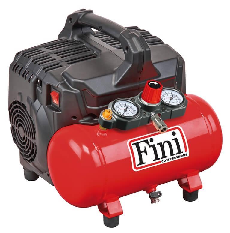 Безмасляный компрессор FINI SILTEK S/6 (малошумный)