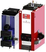 Котёл угольный автоматический Unilux КУВ-100БА (100кВт • 1000м²) (с кожухом)