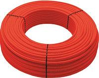 Труба для напольного отопления однослойная красная PERT d20x2,0 mm, Chevron Thermo