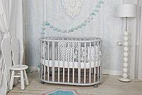 Детская кроватка Incanto Mimi 7 в 1 Серый Элит, фото 1