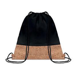 Рюкзак  из хлопка с пробковыми вставками