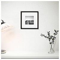 ХОВСТА Рама, темно-коричневый, 23x23 см, фото 1