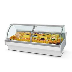 Витрина холодильная Aurora 125 рыба на льду Self
