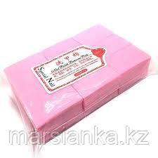 Безворсовые салфетки (розовые), 1000шт