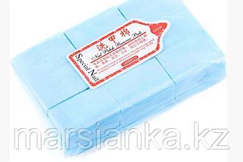 Безворсовые салфетки (голубые), 1000шт